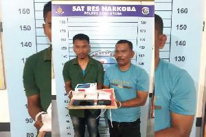 Polisi Aceh Utara Tangkap Oknum PNS Karena Naroba
