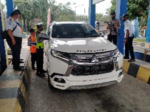 Hari Kedua Larangan Mudik, 124 Kendaraan Disuruh Putar Balik