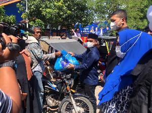 DPW Partai NasDem Aceh Bagikan 2.000 Paket Sembako