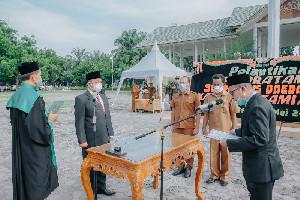 Asra Dilantik Jadi Sekda Aceh Tamiang, Ini Pesan Bupati
