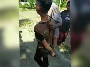 Seorang anak curi Celengan Masjid dijerat lehernya, ini kata Kapolsek