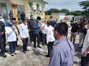 Menteri Investasi RI Kunjungi Kadin Aceh, Untuk Suksesi Anindya Novyan Bakrie