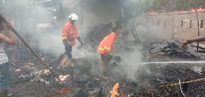 Satu Rumah Warga Aceh Besar Dilalap Si Jago Merah