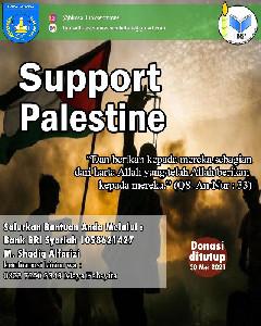 HIMSA melakukan kegiatan Galang Dana Palestina