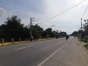 Empat Hari Jelang Lebaran, Jalan Lintas Timur Aceh Sepi Pemudik