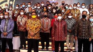 Silaturahmi Kadin Indonesia Sandiaga Uno Hadiri Bersama Anindya Bakrie