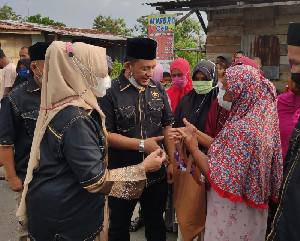 Sambut Idul Fitri 1442 Hijriah, DPW Partai Ummat Aceh Bagikan Paket Lebaran
