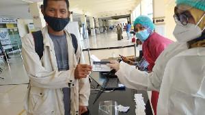 Bandara SIM Aceh Pastikan Tes Cepat Antigen dan GeNose Sesuai Standar Prosedur