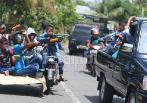 """Apakah Perang Dengan  Senjata Mainan """"Tradisi"""" Lebaran Anak Aceh?"""