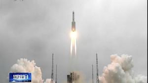 Roket China 18 Ton Terjun Bebas ke Bumi