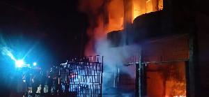 Lebaran Ketiga, 21 Ruko di Aceh Tamiang Dilalap Si Jago Merah