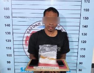 Pria Asal Lhoksukon Diringkus Polisi Usai Bawa 2 Ons Sabu
