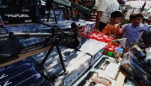 Omzet Perjualan Senjata Mainan Kota Langsa Menurun