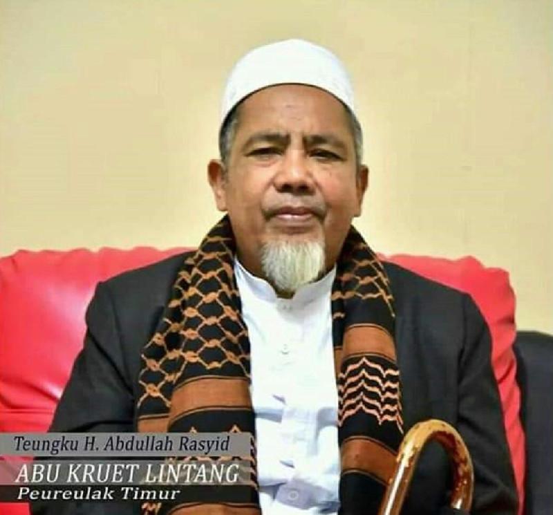 Abu Kruet Lintang Meninggal Dunia, Aceh Kembali Berduka