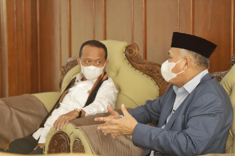 Gubernur Nova Sampaikan Capaian Investasi Aceh Dihadapan Menteri Investasi