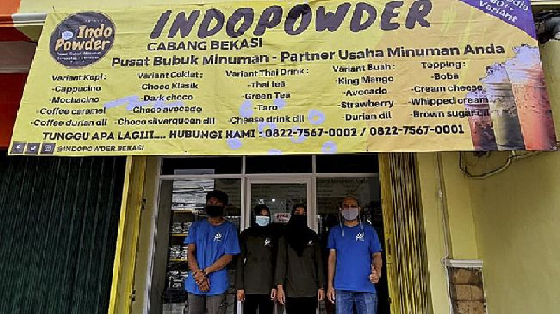 Cerita IndoPowder Bantu Sesama UMKM Lokal Lewat Shopee