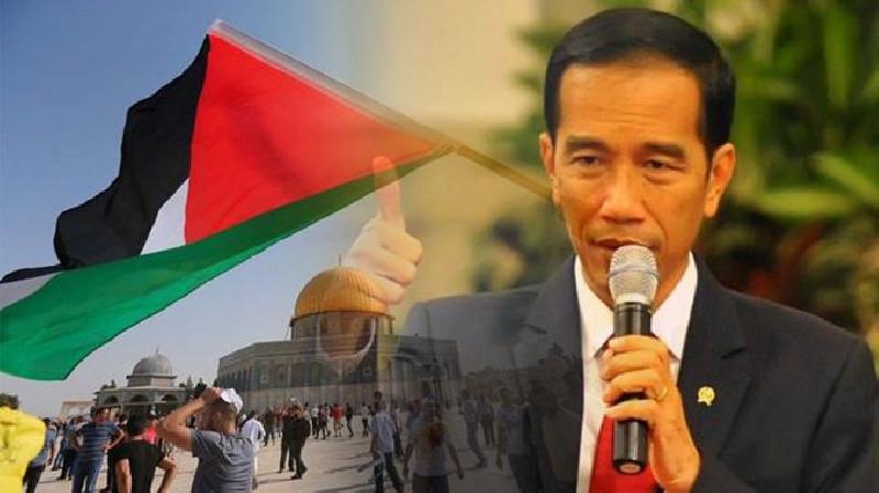 Jokowi: Indonesia Tegas Mengutuk Serangan Israel ke Palestina