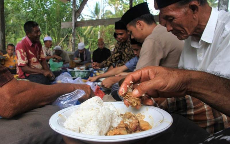 Tradisi Kenduri Jeurat Saat Lebaran di Aceh