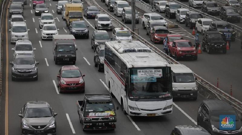 200 Ribu Kendaraan Kembali ke Jabotabek
