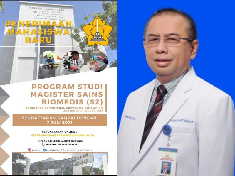 Disahkan Mendikbud, USK Resmi Buka Program Studi Magister Sains Biomedis