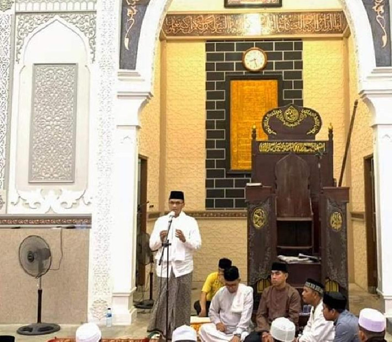 Muzakkar A Gani Tahun Ini Pemkab Bireuen Anggarkan 1 Milyar Untuk Mesjid Agung Sulthan Jeumpa