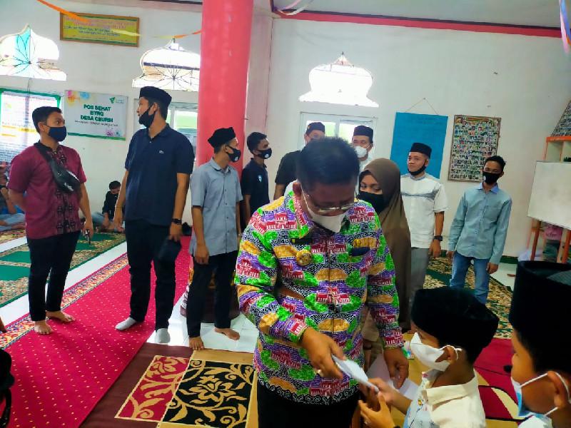 Gema Ramadhan, Wali Kota Banda Aceh Bersama FPMPA Santuni Anak Yatim