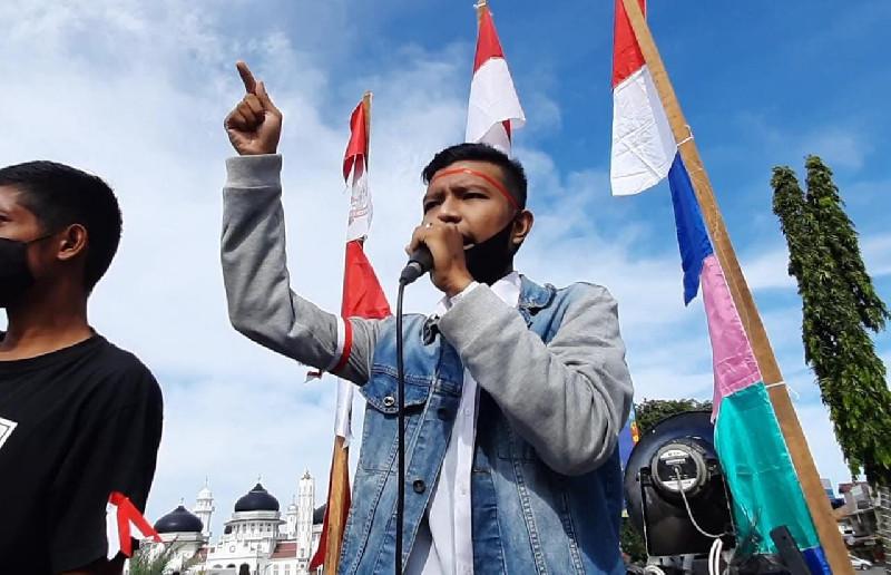 Mahasiswa Aceh Serukan Indonesia Lawan Israel, Ayo Gandeng Turki!