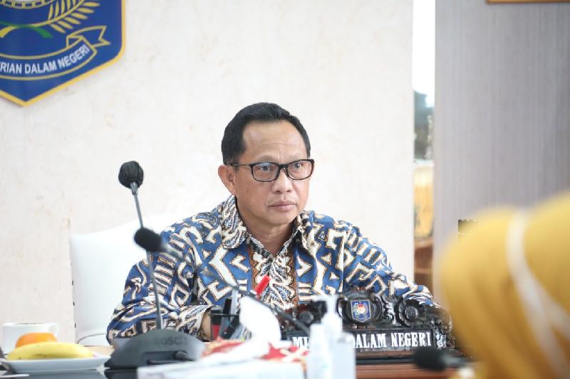 Tito Karnavian Ingatkan Pemda untuk Percepat Realisasi APBD 2021