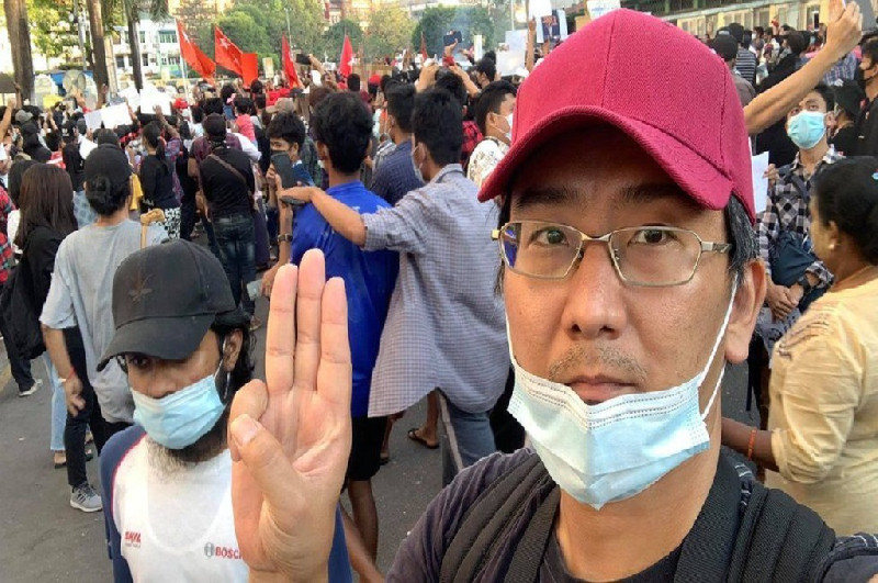 Dituduh Sebar Berita Palsu, Jurnalis Jepang Didakwa di Myanmar