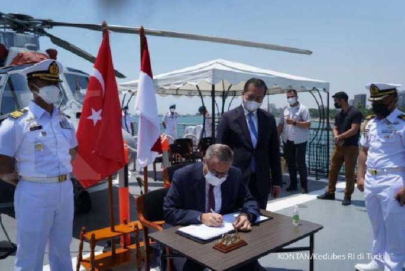KRI Sultan Iskandar Muda 367 Gelar Diplomasi Militer di Turki
