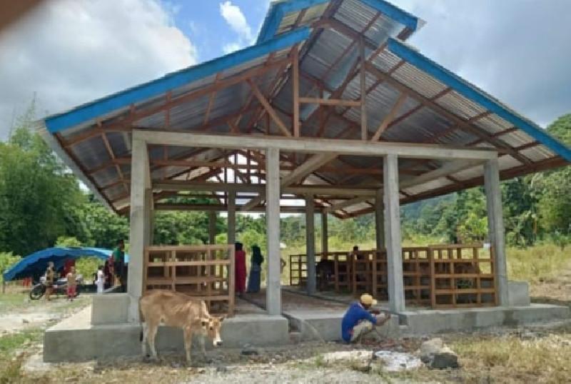 Inspektorat Abdya Diminta Audit Anggaran Untuk Pembangunan Kadang Sapi di Desa Drien