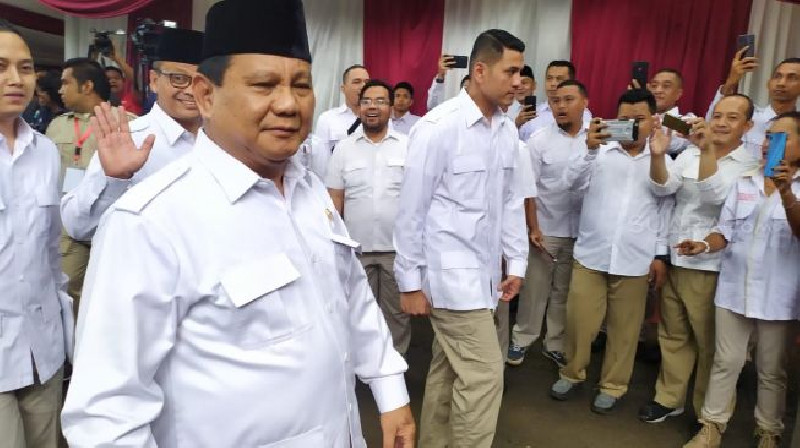 Prabowo Bongkar Orang Jokowi Tak Suka Dia Jadi Menteri Pertahanan