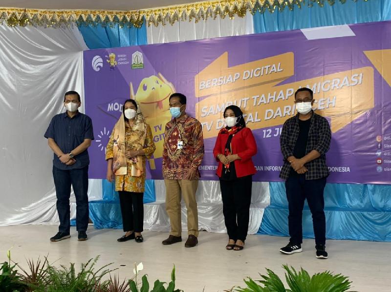 Sambut Tahap Satu Migrasi TV Digital Dari Aceh