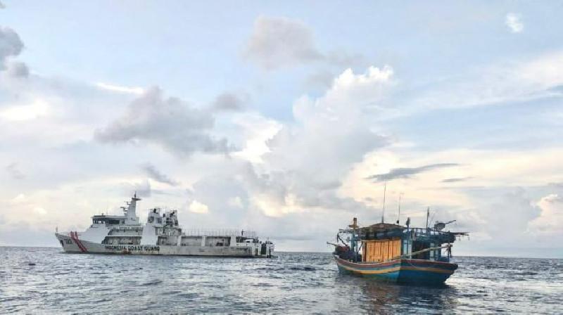 Nelayan Lokal Sering Diusir Oleh kapal Asing di Natuna