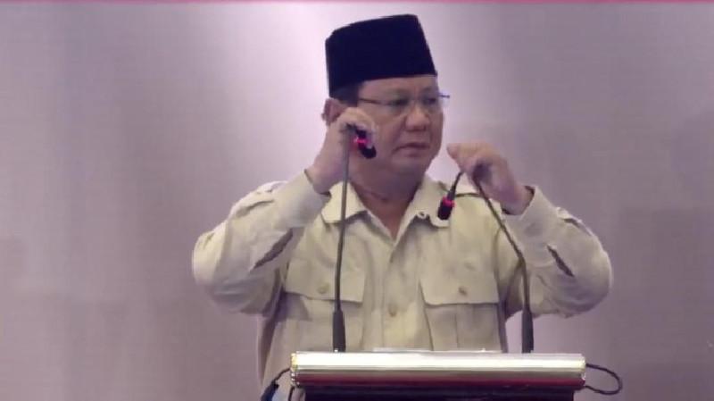Berantas Mark Up Alutsista, Prabowo: Saya Tak Mau Teken!