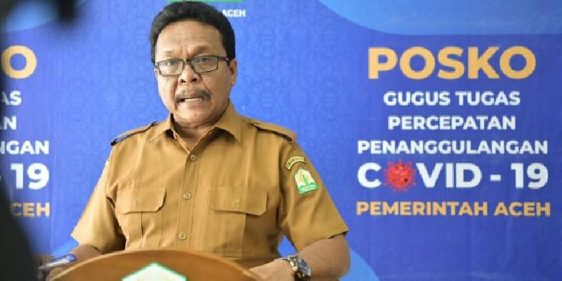 Pasien Covid-19 Sembuh 244 Orang, Aceh Bebas Zona Merah