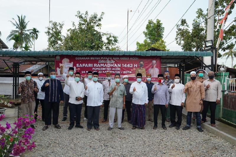 Dinas Dayah Aceh Sosialisasi Mantap BEREH dan GESID di Aceh Tamiang