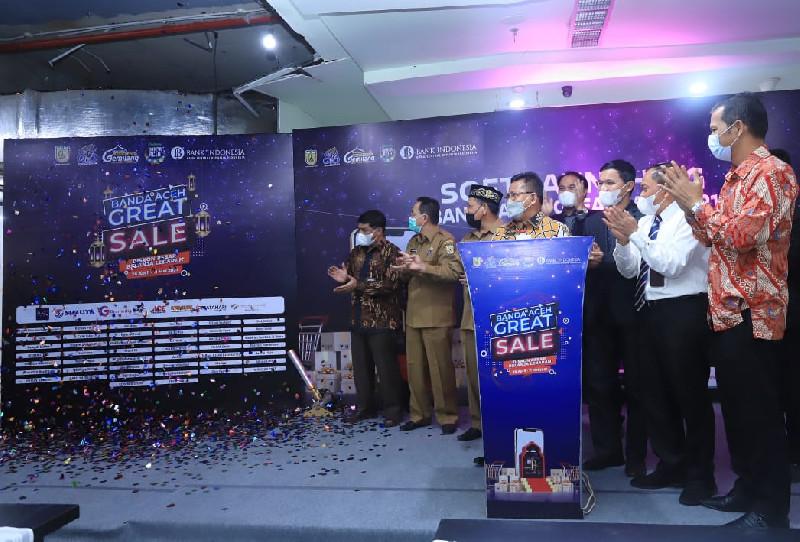 Wali Kota Buka Banda Aceh Great Sale 2021