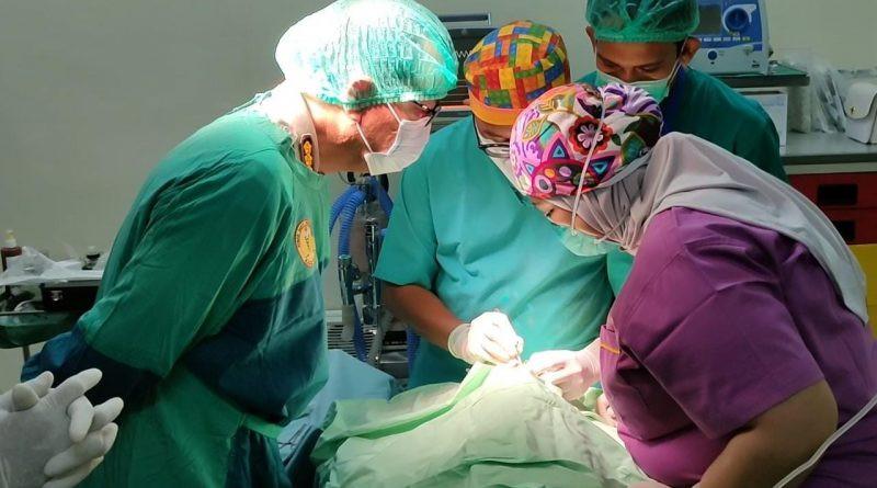 Polda Aceh Gelar Operasi Bibir Sumbing Gratis