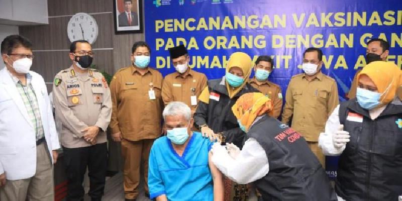 Pemerintah Aceh Canangkan Vaksinasi ODGJ di RS Jiwa