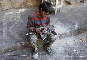 Sepanjang 2020, Lebih Dari 8.500 Tentara Anak Terjun ke Medan Konflik