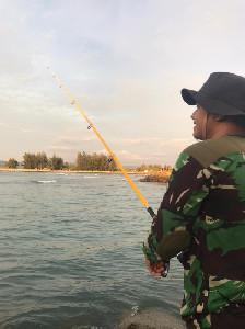 Alue Naga Sudah Mulai Bersih Dari Sampah, Zulfan: Alue Naga Solusi Bagi Pemancing