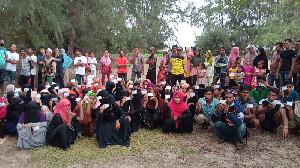 81 Migran Rohingya Terdampar di Aceh Timur, 9 Meninggal Dunia