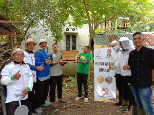 PKS Bireuen Latih Anak Muda Untuk Beternak Lebah Madu