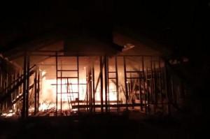 Satu Rumah di Aceh Timur ludes Dilalap Jago Merah
