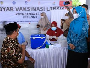 Sasar Kelompok Prioritas, Gebyar Vaksinasi Lansia di Aceh Diluncurkan