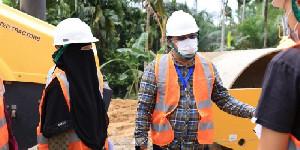 Dukung Pembangunan Jalan Peureulak-Lokop, Warga Serba Jadi Serahkan Tanah