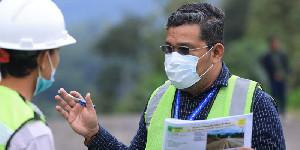 Melepas Samar Kilang dari Keterisoliran, Pengerjaan Ruas Jalan Dipacu Realisasinya