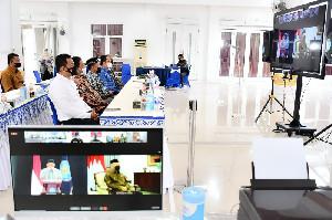 Wawalkot Banda Aceh Ikuti Peringatan HANI 2021 Secara Virtual