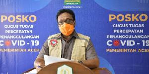 Kasus Covid-19 Tambah 166 Orang di Aceh, Enam Orang Meninggal Dunia
